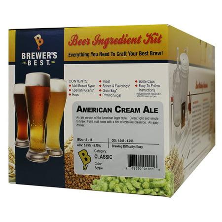 American Cream Ale Homebrew Beer Ingredient Kit