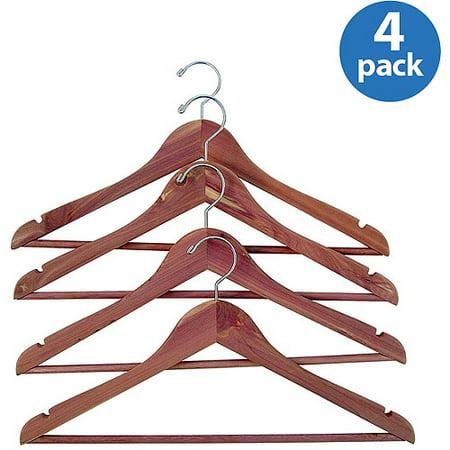 Household Essentials Cedar Garment Hanger, (Classic Cedar Hanger)