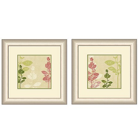 Transitional wall d cor set of 2 for Walmart art decor