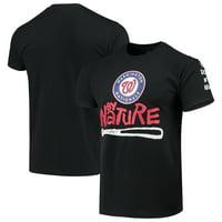 Washington Nationals Naughty by Nature Baseball T-Shirt - Black