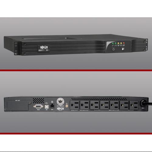 Tripplite Smart500rt1u Smart Pro 500va 120v Ups (smart-500rt1u)
