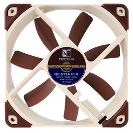 Noctua 138371 Fan Nf-s12a Flx Knobs Blade Tips 3 Speed Sso2 Bearing 120x120x25mm Retail