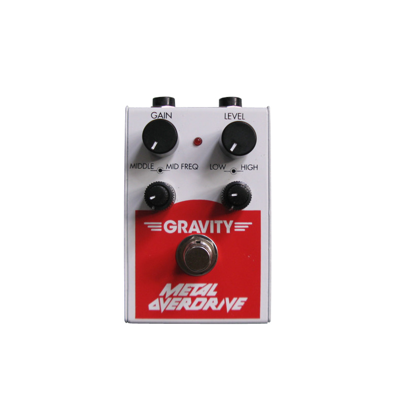 Gravity GMO-1 Metal Overdrive Pedal by Gravity