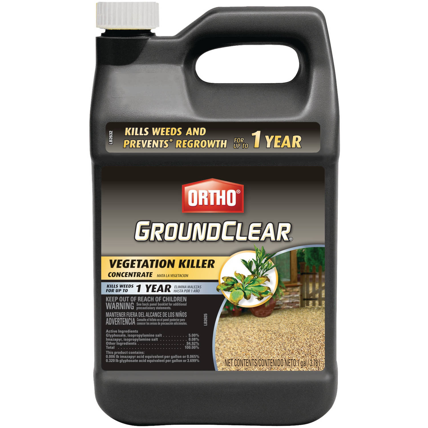 Ortho Groundclear Vegetation Killer Concentrate, 1 gal