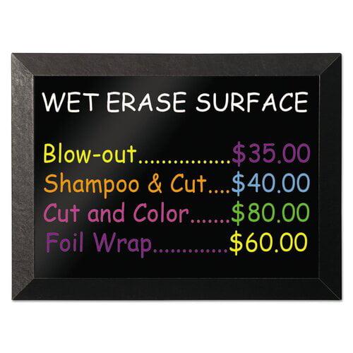 Mastervision Wet Erase Magnetic Chalkboard
