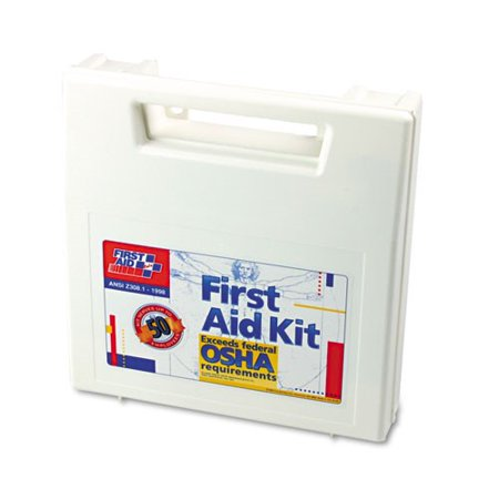 First Aid Kit For 50 People  195 Pieces  Osha Ansi Compliant  Plastic