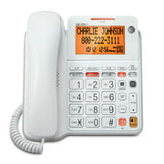 AT&T CL4940 Standard Corded Phone - White