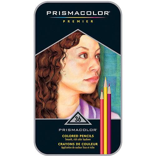 Prismacolor Premier Thick Core Colored Pencil Set, 36-Colors