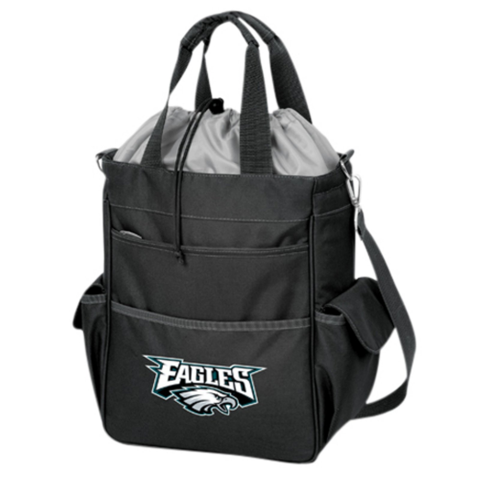 Picnic Time Activo, Black Philadelphia Eagles Digital Print