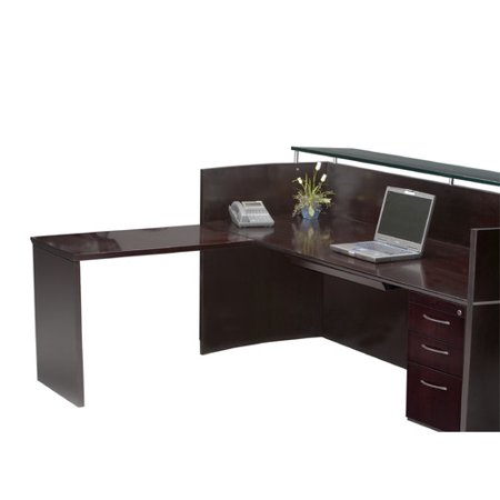 Mayline Group Napoli Series L Shape Reception Desk