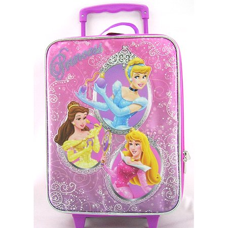 00a2f2ac9d9f Princess - Disney Kids Rolling Luggage - Walmart.com
