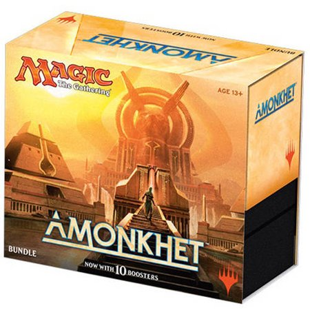 Wizards Mtg Magic The Gathering 2017 Amonkhet Bundle  Contains 10 Booster Packs   More