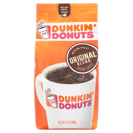 Dunkin Donuts Original Blend Medium Roast Ground Coffee  12 Oz