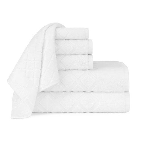 Briarwood Home Diamond Jacquard 6 Piece Towel Set by Overstock