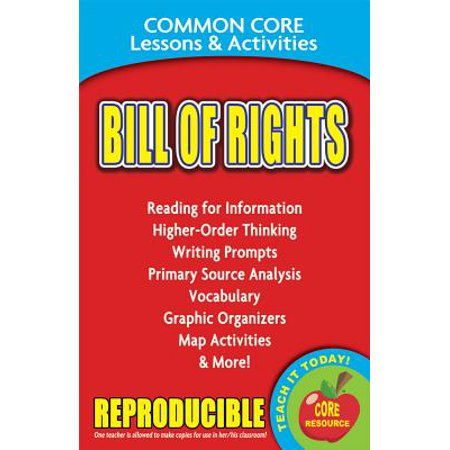 History Of Halloween Lesson Activity (Bill of Rights Common Core Lessons &)