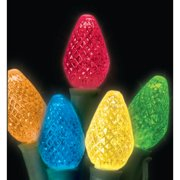 Christmas at Winterland S-25C75M-8G 15 Foot String of Multicolor C7 LED Lights w