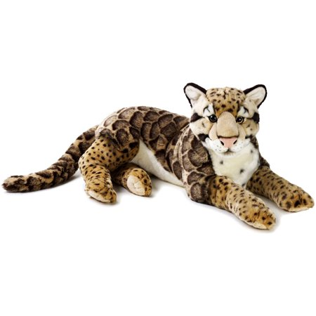 Lelly National Geographic Plush  Clouded Leopard
