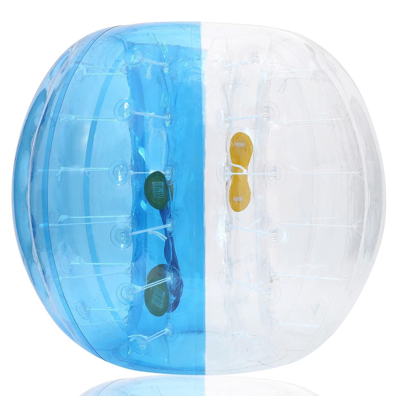 FUN Inflatable Bumper Ball Human Knocker Ball Bubble Soccer Football Adults and Kids BTC by