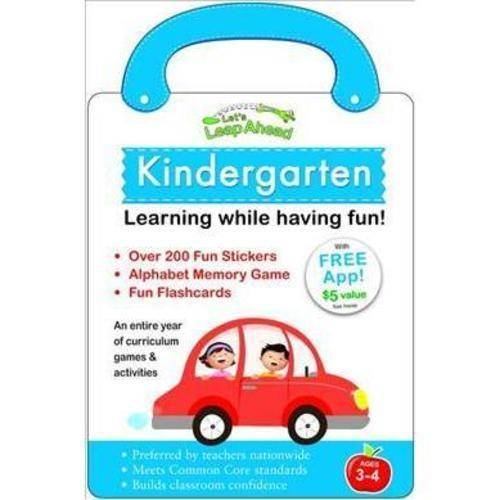 Let's Leap Ahead, Kindergarten: Learning While Having Fun!