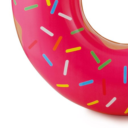 Summer Waves Chocolate or Strawberry Pink Donut Inflatable Pool Float (3 Pack) - image 7 of 8