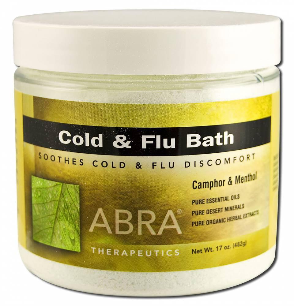 Abra Therapeutics - Abracadabra Bath, Cold And Flu, 17 oz