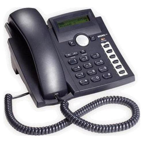 snom 300 SIP-based IP Phone, Black