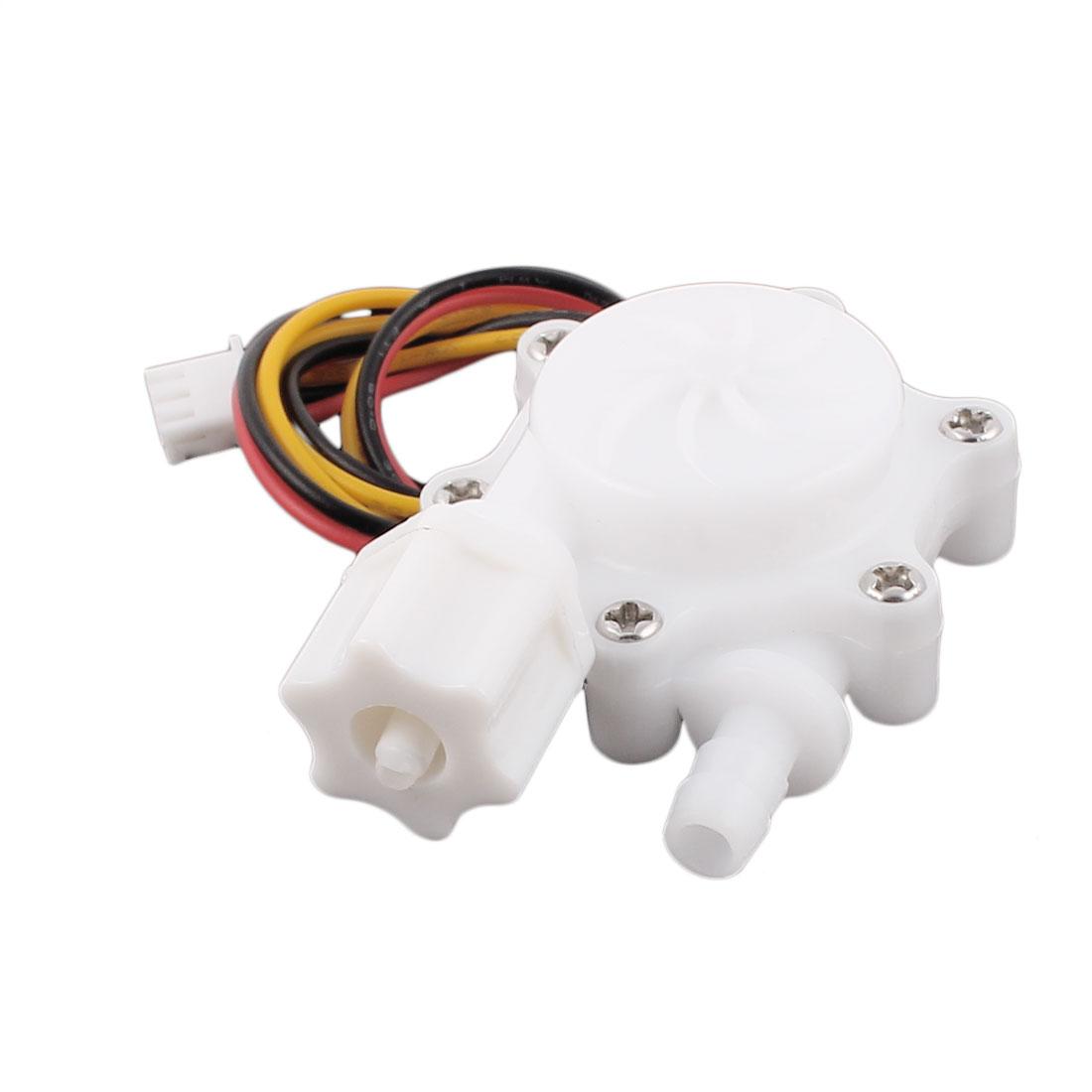 "G1/4"" 6mm DC5V Thread Hall Effect Water Flow Sensor Switch Flowmeter 0.15-1.5L/M - image 5 of 5"