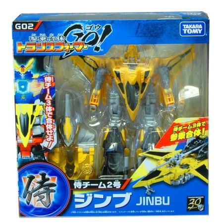 Transformers GO! Jinbu Action Figure