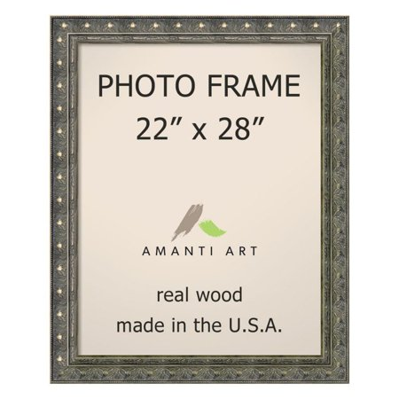 Amanti Art Barcelona Pewter Photo Frame 26 X 32 Inch Walmartcom