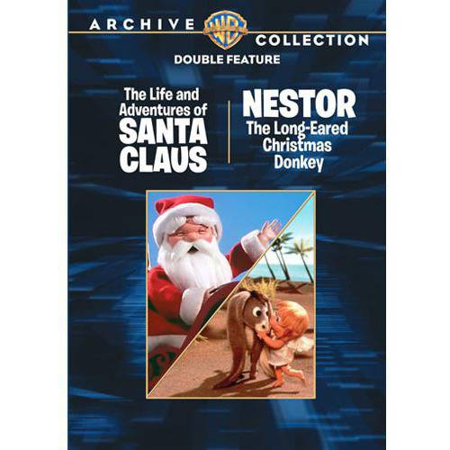 The Life And Adventures Of Santa Claus / Nestor The Christmas Donkey (Full Frame)