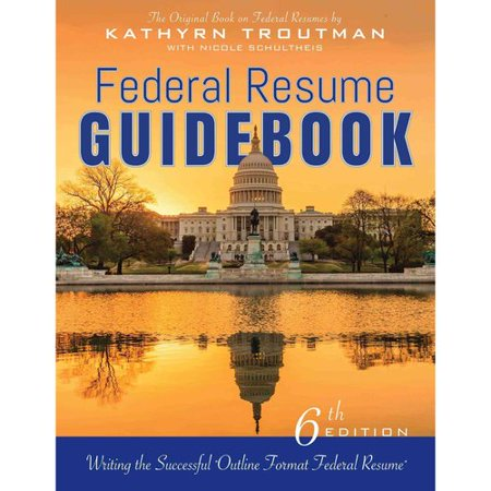 Federal Resume Guidebook  Writing The Successful Outline Format Federal Resume