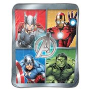 2 Pack Cozy Inside Out Or The Avengers Soft Fleece 46x60?? Plush Throw Blankets For Kids Girl Boy