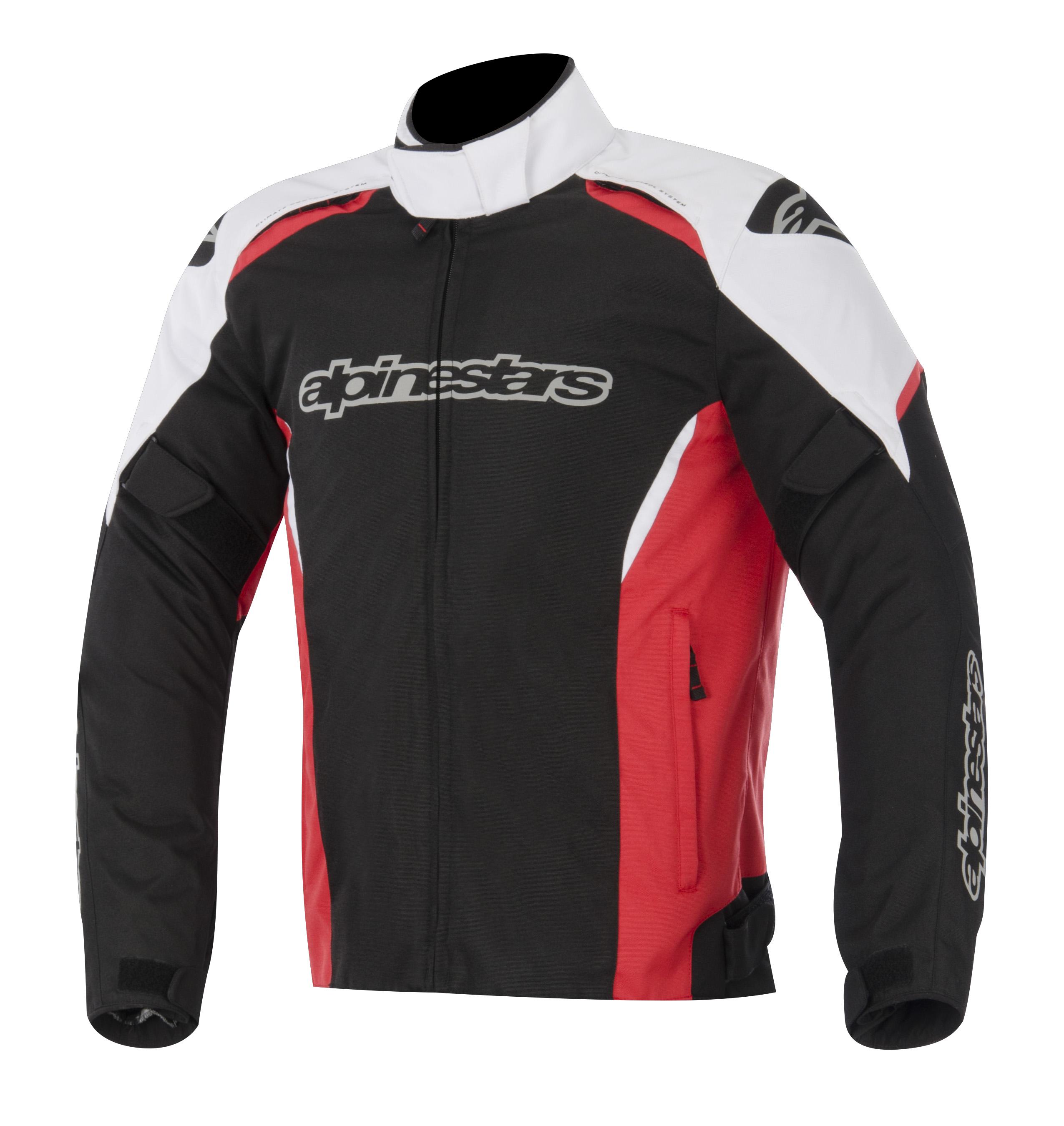 Alpinestars Gunner Mens Waterproof Jacket Black/White/Red