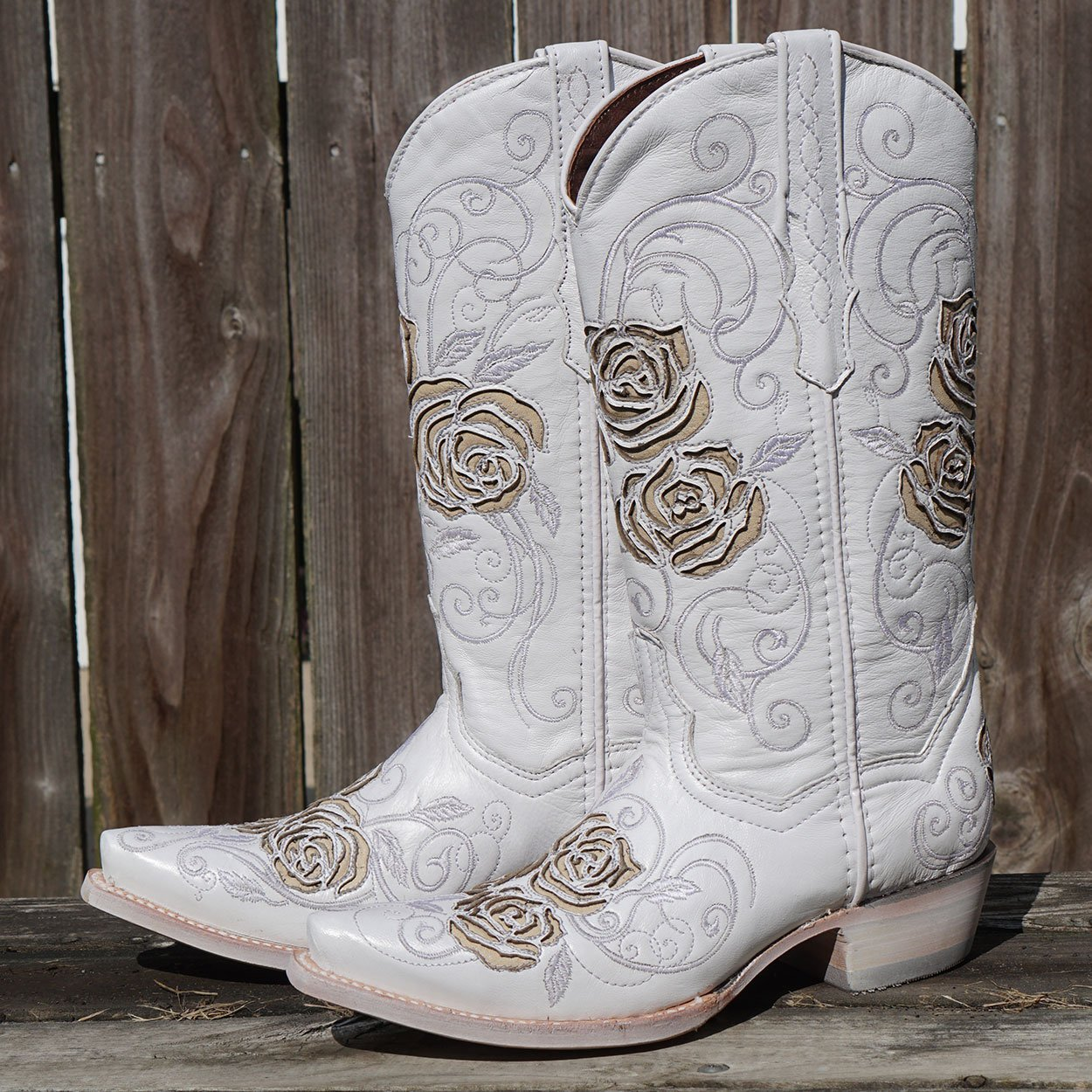 Soto Boots Vegas Leather Cowgirl Boot M50002