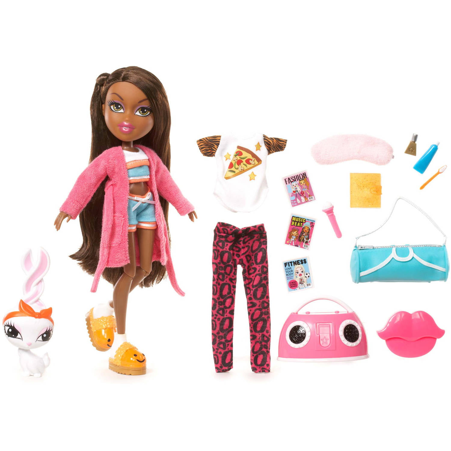 Bratz Sleepover Party Doll, Sasha by CHOI'S EARLY LIGHT TECHNOLOGY (SHENZHEN) COMPANY LTD