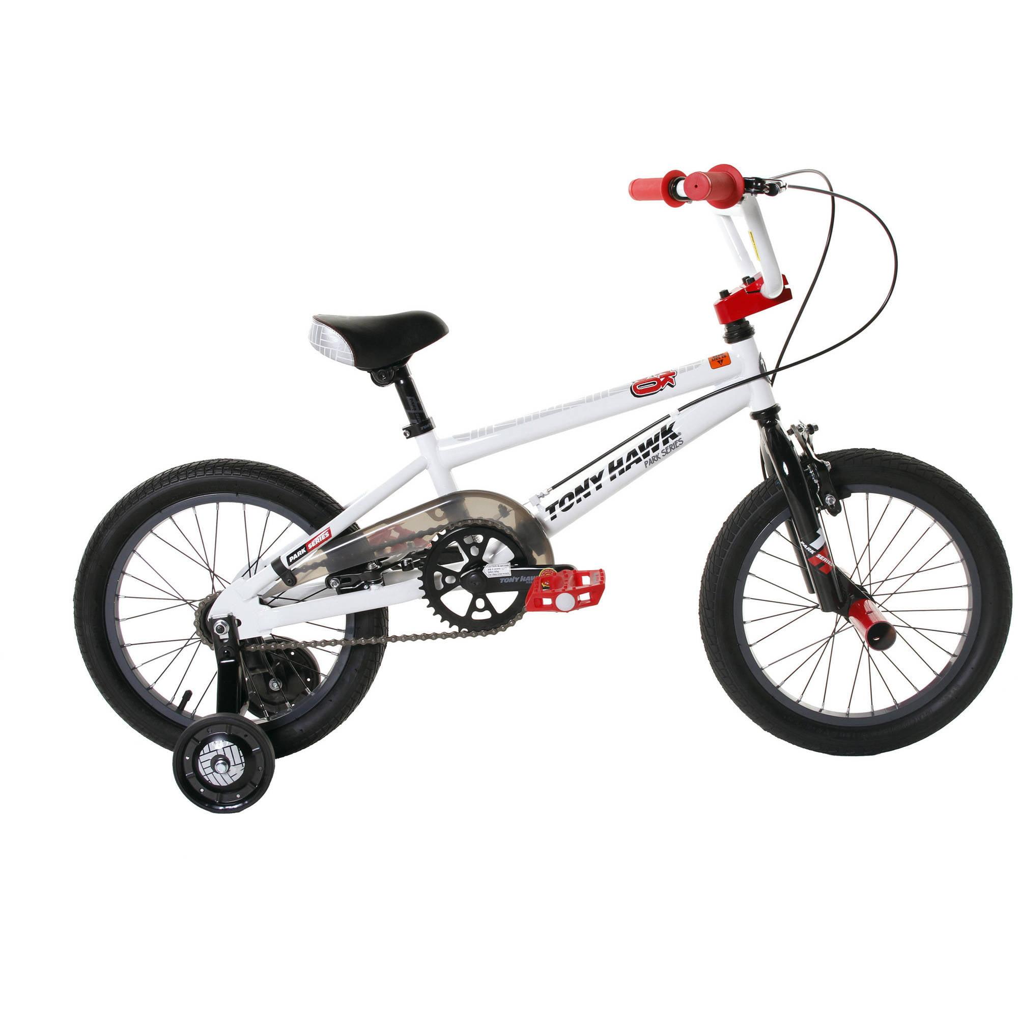 """Dynacraft 16"""" Boys' Tony Hawk HWK 360 Bike"""
