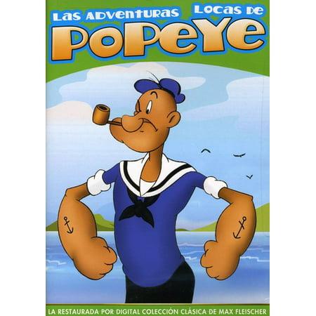 Las Adventuras Locas De Popeye (DVD)](Las Peliculas De Halloween)