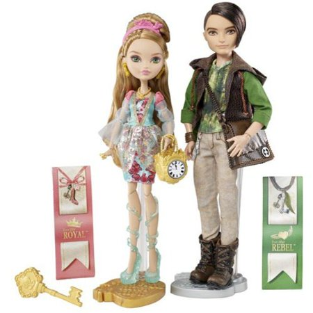 Ever After High Ashlynn Ella and Hunter Huntsman Dolls - Ever After High Kitty Cheshire