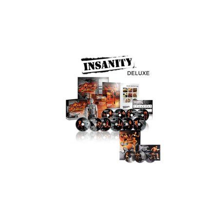 insanity 60 day deluxe kit - dvd workout - Walmart com