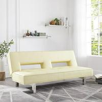 Astrid Futon Sofa by Naomi Home-Color:Espresso