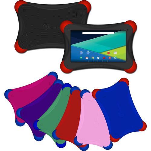"""Visual Land Prestige Elite FamTab with WiFi 7"""" Touchscreen Tablet PC Featuring Android Kit Kat 4.4 Operating System"""