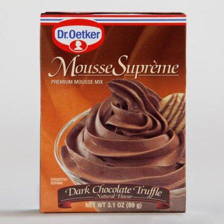 Oetker Creme (Dr. Oetker Dark Chocolate Truffle Mousse (Pack of 1) )