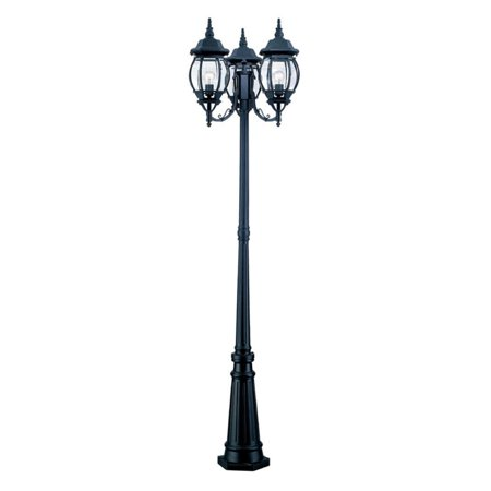 Acclaim Lighting Chateau 3 Head Outdoor Surface Mount Post Combination