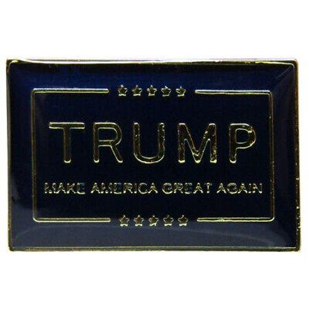 Novelty Hats Wholesale (Wholesale Pack of 3 Trump Make America Great Again Blue Bike Hat Cap lapel)
