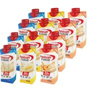 Premier Protein High Protein Shakes - 4 Vanilla, 4 Peaches & Cream, 4 Banana (11 fl. oz., 12 pack)