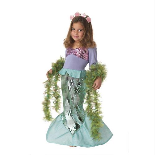 Toddler Lil' Mermaid Costume for Halloween Size 3T-4T MEDIUM