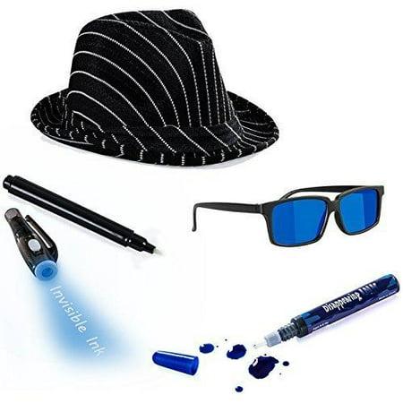 Tigerdoe Detective Costume - Spy Gear for Kids - Dress up - Spy Costume Accessories (4 - Spy Costume Kids