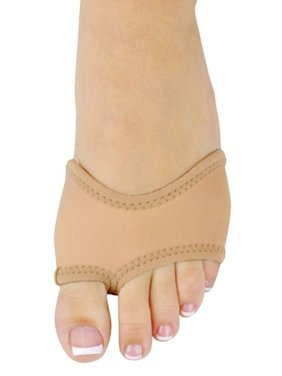 Danshuz Womens Girls Tan Neoprene Ballet Slip On Half Sole Size XS-L