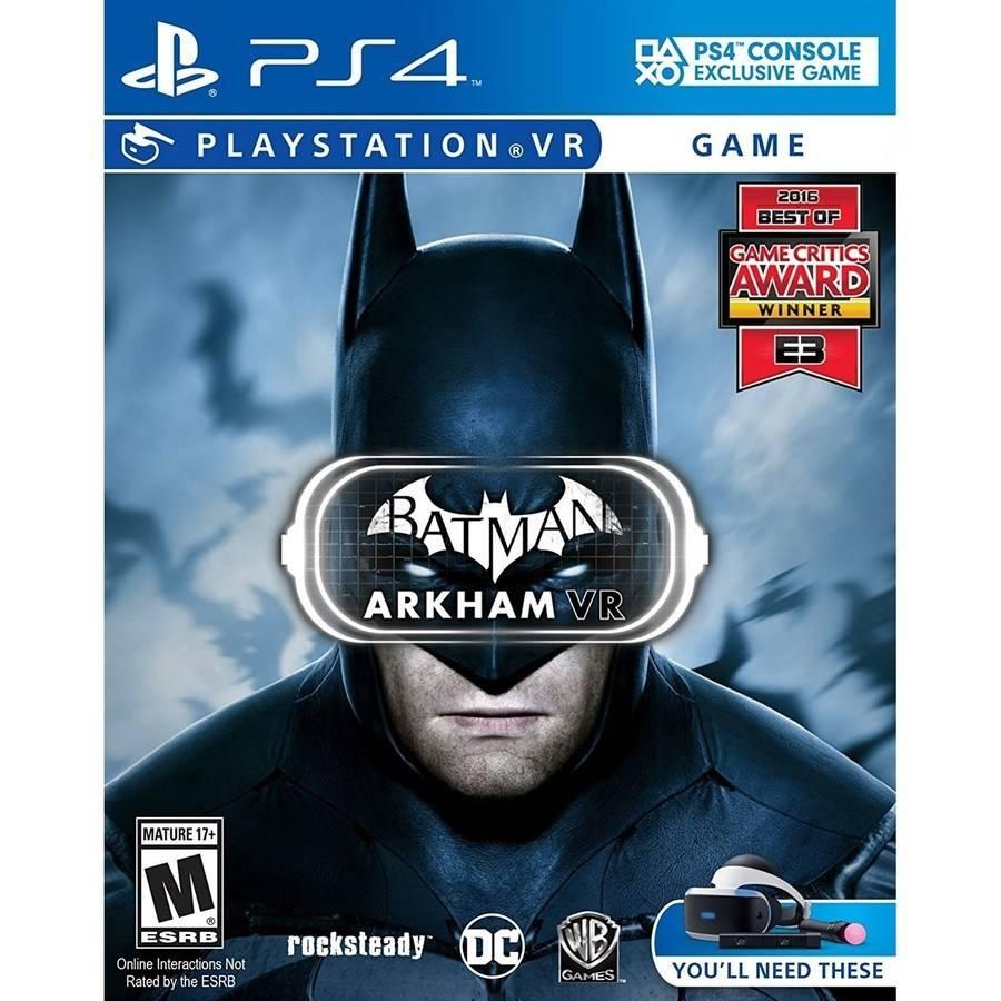 Batman: Arkham VR PlayStation VR by WHV Games