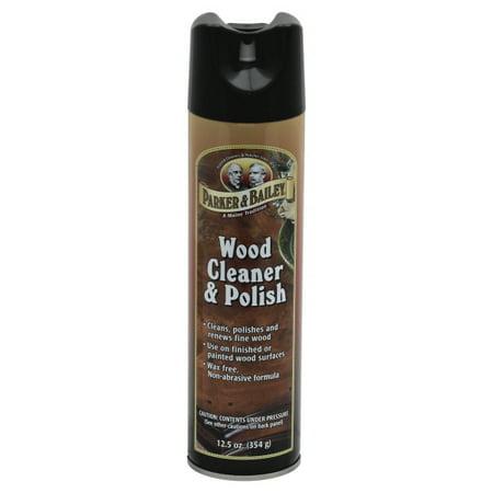 Parker Amp Bailey Wood Cleaner Amp Polish 12 5 Oz Aerosol